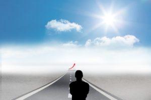 大半の人は目標がない、挑戦しない、すぐ諦めるから、ちょっと頑張れば差がつくよという話