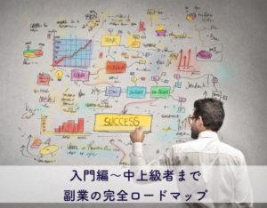 副業の完全ロードマップ|知識ゼロ→月10万円以上を目指すための全知識